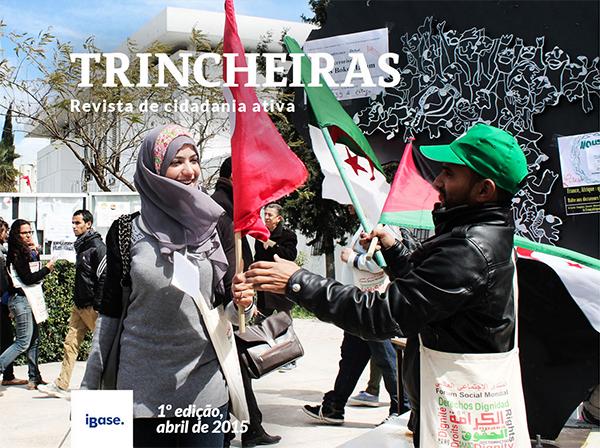Capa Revista Trincheiras - 1ª Edição