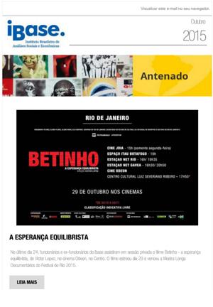 Boletim Antenado - Outubro de 2015