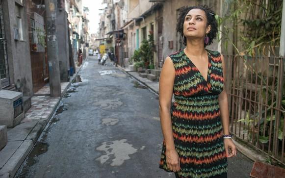 Resultado de imagem para MARIELLE FRANCO ASSASSINADA